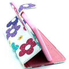 Flower Leather Stand Case for iPhone 6 Plus - BoardwalkBuy - 5