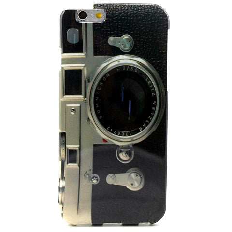 Retro Camera Tpu Case For Iphone 6