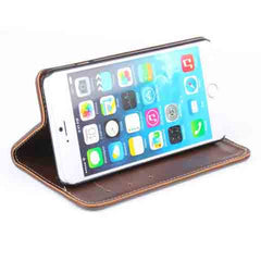 iphone 6 5.5inch Genuine Leather Wallet Case - BoardwalkBuy - 9