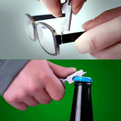 Multifunctional Bottle Opener and Key Chain Tool - BoardwalkBuy - 4