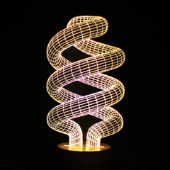 3D Wooden Mood Lamp - Assorted Styles - BoardwalkBuy - 7