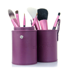 7 Piece Make Up Brush Set - Assorted Colors - BoardwalkBuy - 3