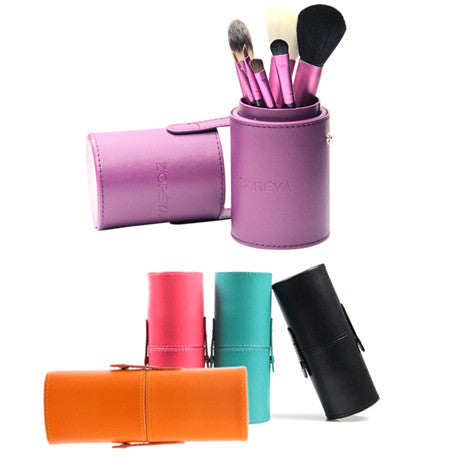 7 Piece Make Up Brush Set - Assorted Colors