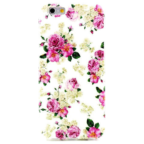Floral Blossom TPU Case for iPhone 6 - BoardwalkBuy - 1