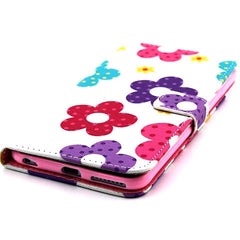 Flower Leather Stand Case for iPhone 6 Plus - BoardwalkBuy - 3