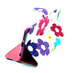 Flower Leather Stand Case for iPhone 6 Plus - BoardwalkBuy - 4