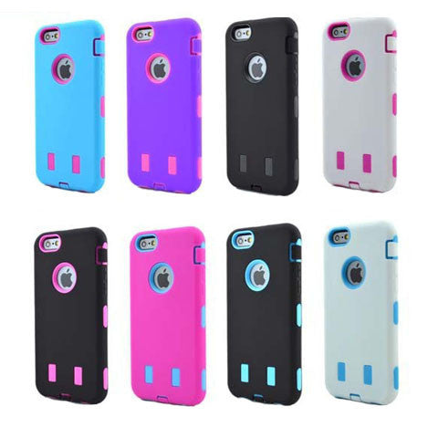 Shockproof Hybrid Hard Case for iPhone 6 Plus