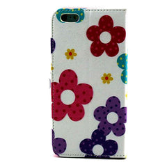 Flower Leather Stand Case for iPhone 6 Plus - BoardwalkBuy - 2