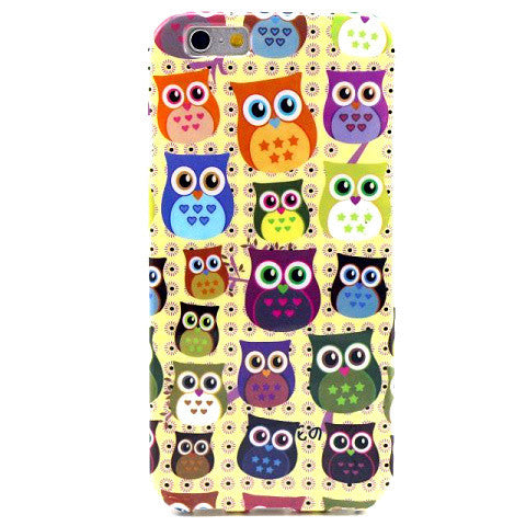 Cartoon Owl TPU Case for iPhone 6 - BoardwalkBuy - 1
