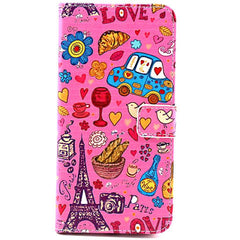 Cartoon Stand Leather Case for iPhone 6 - BoardwalkBuy - 1