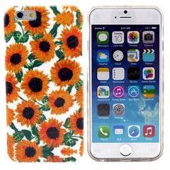 Sun Flower Pattern TPU Case for iPhone 6 - BoardwalkBuy - 1