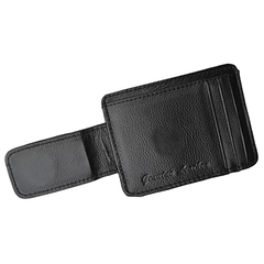 Luxuries Genuine Leather Magnetic Money Clip Wallet - BoardwalkBuy - 2