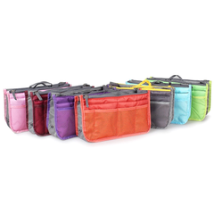 Slim Bag-in-Bag Purse Organizer - Assorted Color - BoardwalkBuy - 2