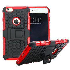 Anti-Shock Hybrid Stand Case for iPhone 6 & 6 Plus - BoardwalkBuy - 2