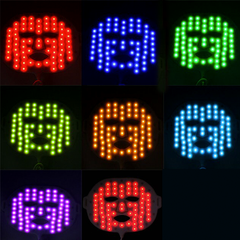 EZGO 7+1 Colors LED Face Mask - BoardwalkBuy - 7