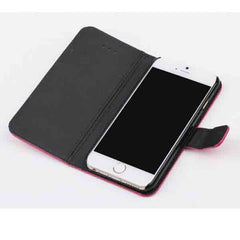 Lychee Embossed Leather Case for iphone 6 - BoardwalkBuy - 9