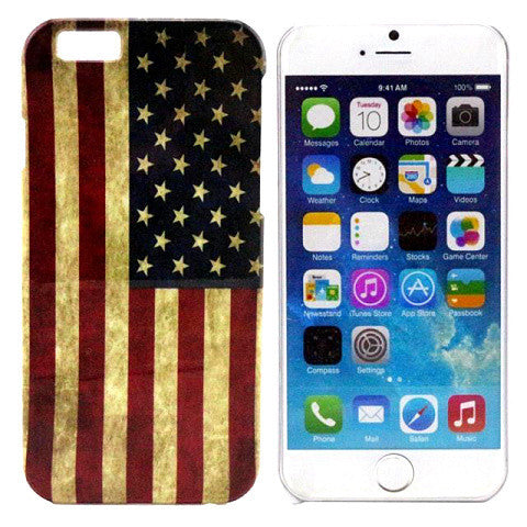 Vintage Flag PC Hard Case for iPhone 6