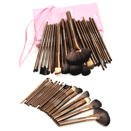 Purple Rain 24 Piece Brush Set