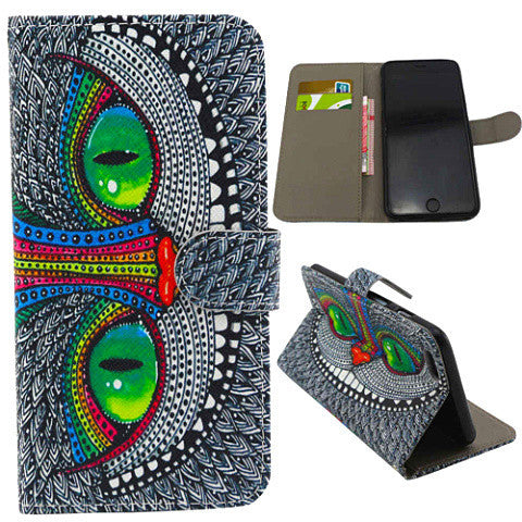 Owl Stand Leather Case for iPhone 6 - BoardwalkBuy - 1