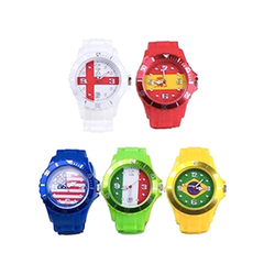 Watch with Silicone Strap - Multiple Countries - BoardwalkBuy - 2