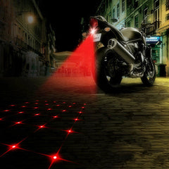 Anti-collision car rear  fog brake automated parking LED Laser lights - BoardwalkBuy - 3