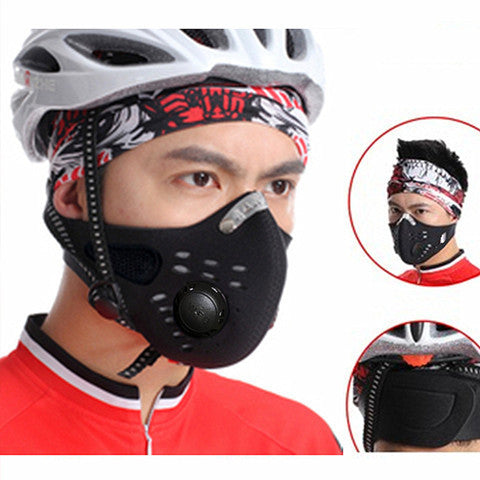 Anti Pollution Training Face Mask
