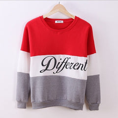 Autumn and Winter Women Printed Different Letters Hoodies - BoardwalkBuy - 4