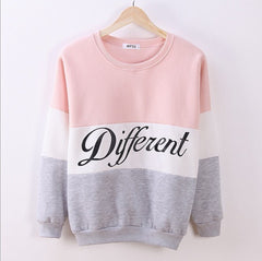 Autumn and Winter Women Printed Different Letters Hoodies - BoardwalkBuy - 1