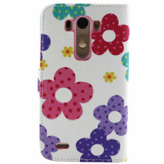 Flower Leather Wallet Case for LG G3 - BoardwalkBuy - 4