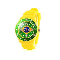 Watch with Silicone Strap - Multiple Countries - BoardwalkBuy - 4
