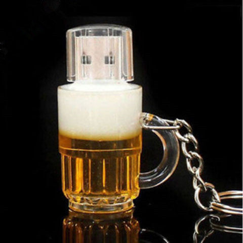 Beer mug Creative USB 2.0 U disk - BoardwalkBuy