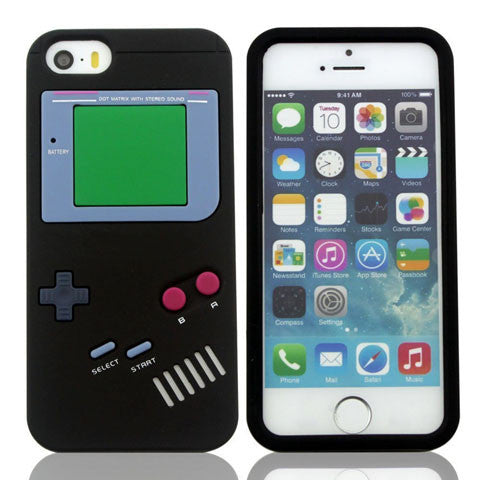 Gameboy Silicone Case For Iphone 5 5S