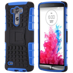Hybrid Stand Armor Case for LG G3 - BoardwalkBuy - 3