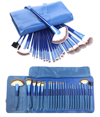 Ocean Blue 24 Piece Brush Set - BoardwalkBuy - 1