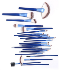 Ocean Blue 24 Piece Brush Set - BoardwalkBuy - 5