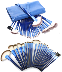 Ocean Blue 24 Piece Brush Set - BoardwalkBuy - 8