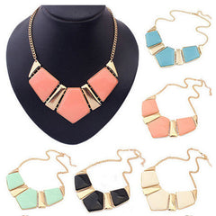 Candy Color Collar Necklace - BoardwalkBuy - 1