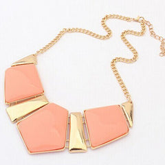 Candy Color Collar Necklace - BoardwalkBuy - 2