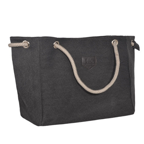 Canvas Contracted Large Handbag