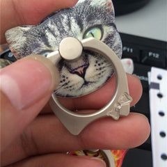 Cartoon Cat Ring Mobile Phone Holder - BoardwalkBuy - 6