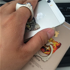 Cartoon Cat Ring Mobile Phone Holder - BoardwalkBuy - 12