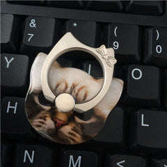 Cartoon Cat Ring Mobile Phone Holder - BoardwalkBuy - 4