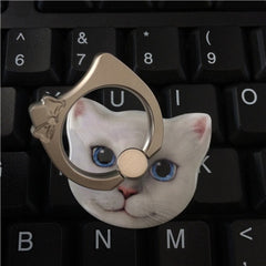 Cartoon Cat Ring Mobile Phone Holder - BoardwalkBuy - 2