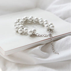 Charm Crystal Diamond Pearl Beads Bracelet - BoardwalkBuy - 3