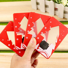 Folding  Christmas Tree Shape Card LED Light - BoardwalkBuy - 3
