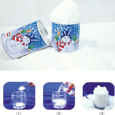 Christmas Man-Made Snow Bottle