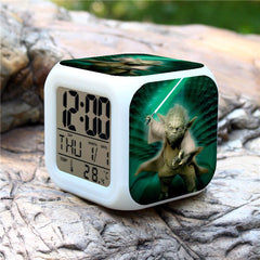 Colorful Star Wars Alarm Clock - Assorted Styles - BoardwalkBuy - 3