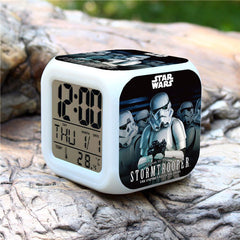 Colorful Star Wars Alarm Clock - Assorted Styles - BoardwalkBuy - 4