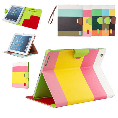 Stand PU Leather Case for iPad Air - BoardwalkBuy - 1