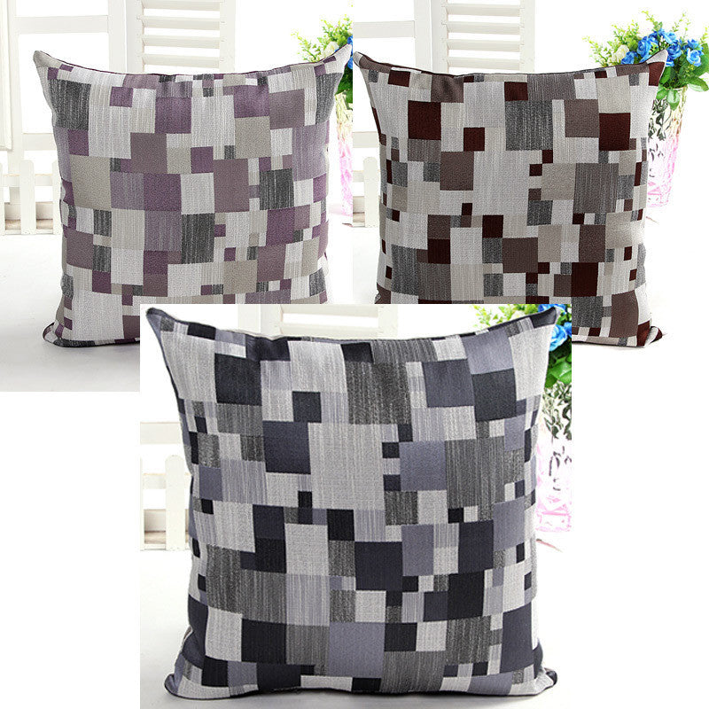 Bamboo Mosaic Cushion Cover - BoardwalkBuy - 1